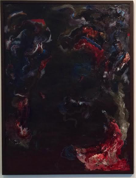 "Oil on canvas<br>33"" x 47"""